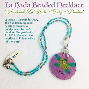 Fairy - La Hada Beaded Necklace